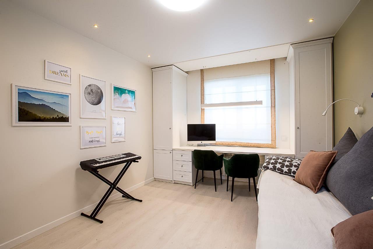 Уютная комната для работы и отдыха